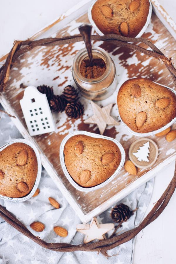 Rezept zu Weihnachten: Honigkuchen als Muffins. Titatoni.de