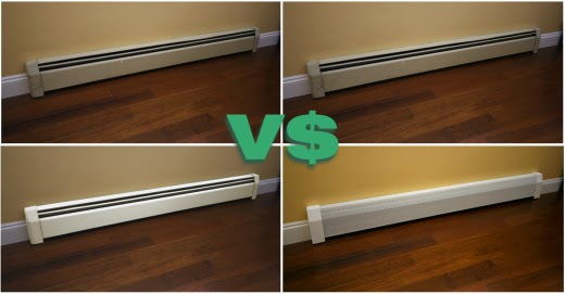 baseboard cover cost