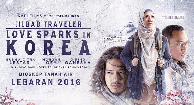 JILBAB TRAVELER : LOVE SPARKS IN KOREA