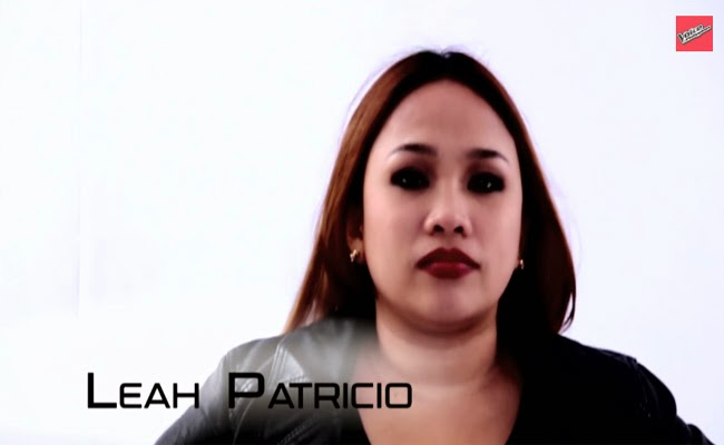 Team Sarah: Watch Leah Patricio Performance and Story The Voice of the Philippines Season 2 February 15, 2015