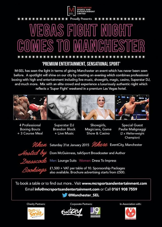 Vegas Fight Night Comes to Manchester