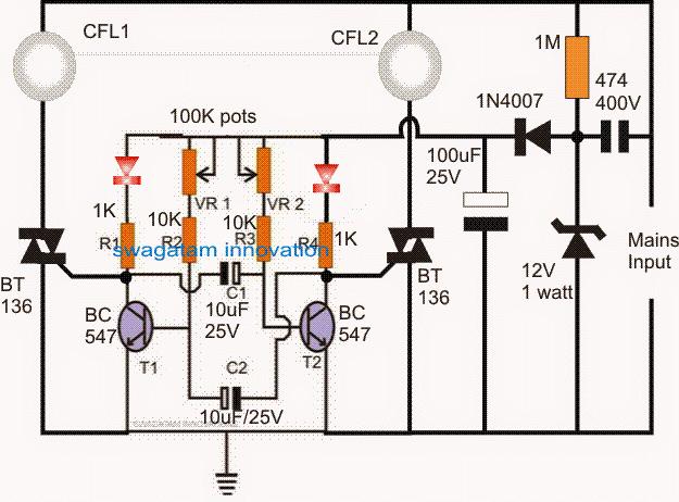 220V Dual Alternate Lamp Flasher