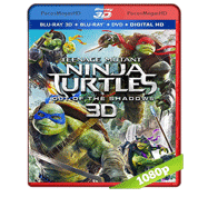 Tortugas Ninja 2 Fuera de las Sombras (2016) 3D SBS BRRip 1080p Audio Dual Latino/Ingles 5.1