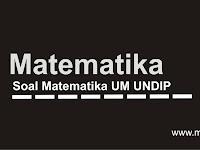 Soal Matematika Eksponen UM UNDIP