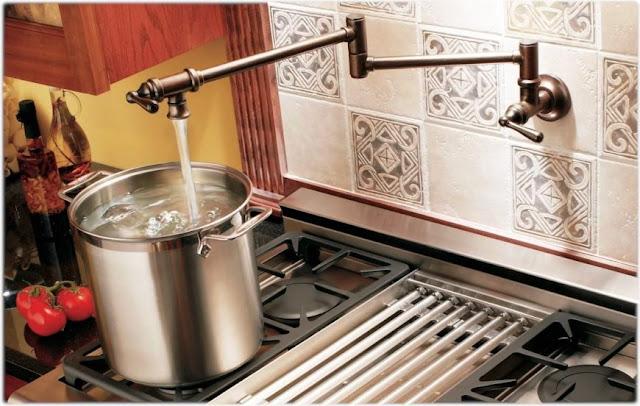 Jenis-jenis Keran Dapur Berdasarkan Bentuknya