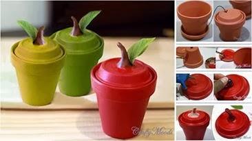 Vasinho de Plantas = Pote para cozinha