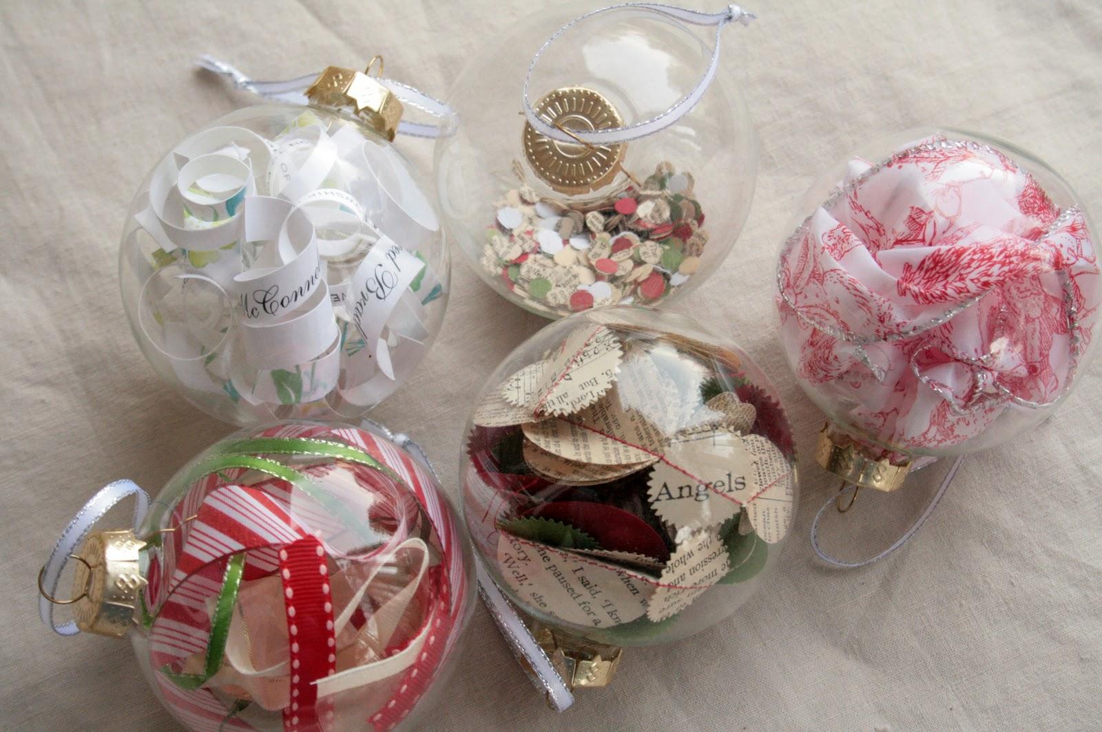 The Creative Place: Handmade Christmas: Ornaments