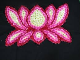 Lotus Flower Rangoli