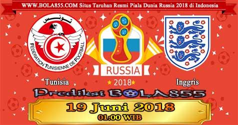 Prediksi Bola855 Tunisia vs England 19 Juni 2018