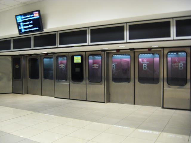 Buck Tracks Atlanta Airport Subway