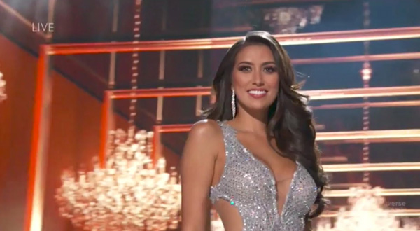 Miss Universe Philippines Rachel Peters fails to make ti Top 5