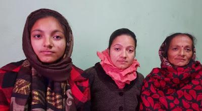 सुरक्षा माग्न  बम दिदीबहिनी  काठमाडौमा (भिडियो सहित)