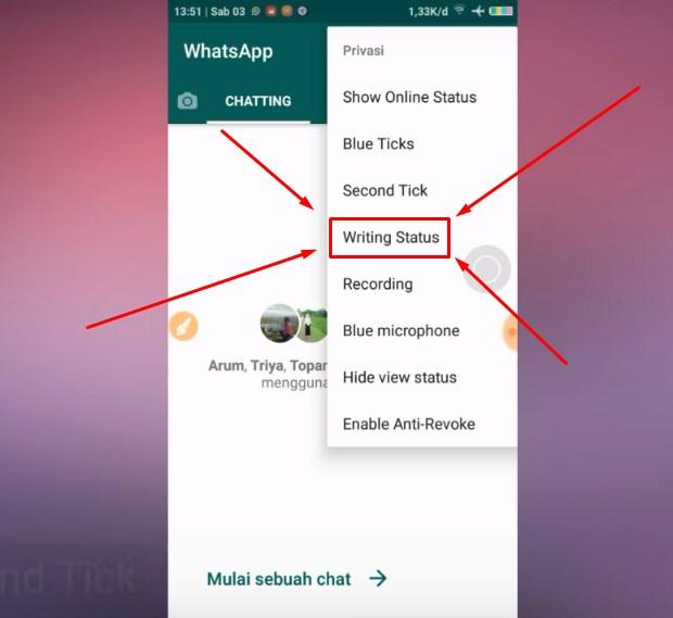Langkah Ketiga Supaya WA Terlihat Offline Saat Chatting Terbaru 2019 2