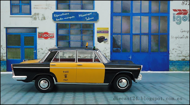 1:24 escala 1//24 SEAT 124 Colección Coches Inolvidables salvat