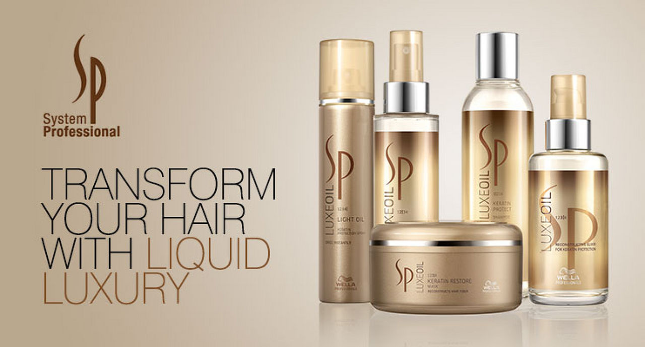 SP System Professional Luxe Oil Keratin Restore Mask