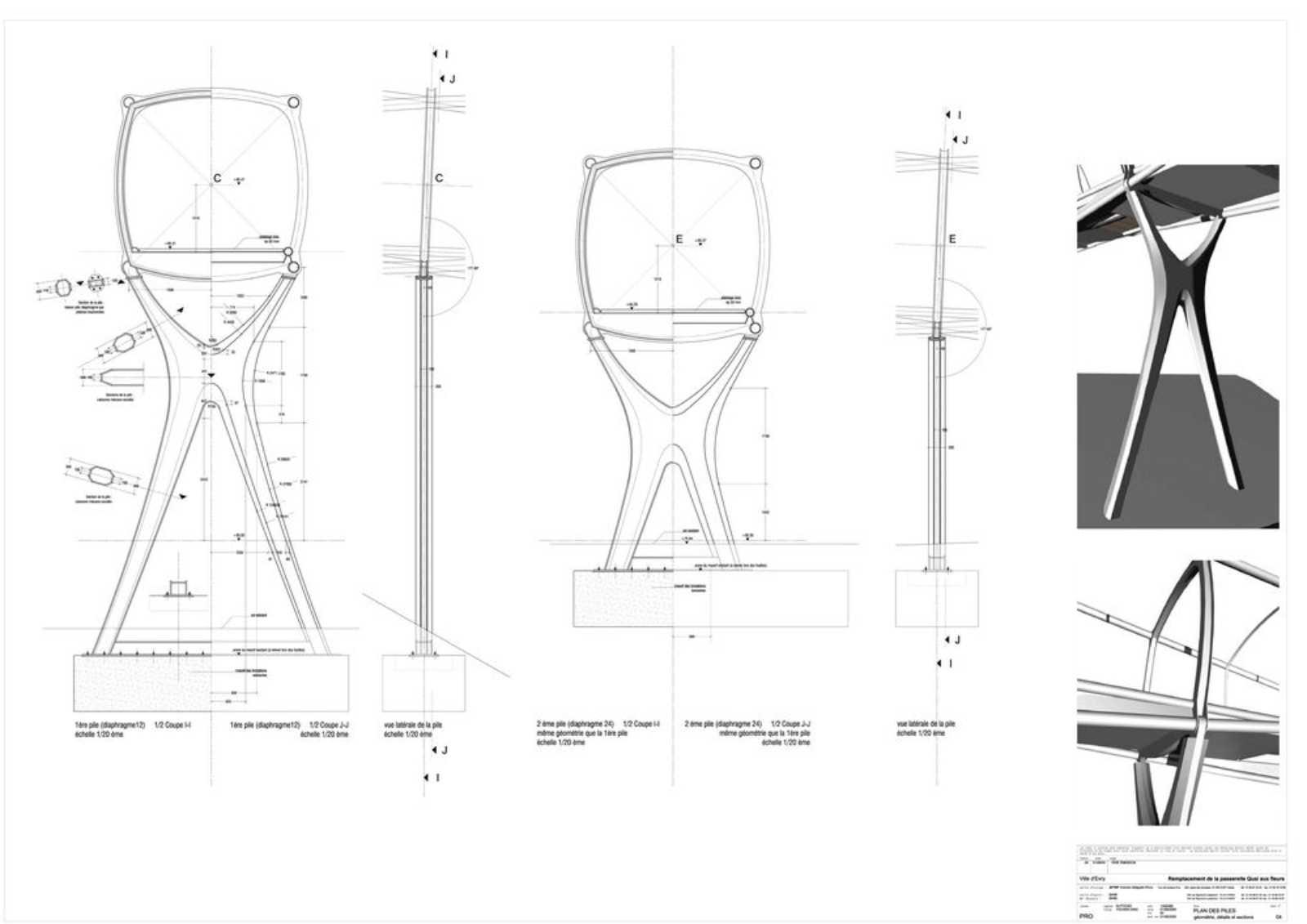 Pedestrian Footbridge By Dvvd
