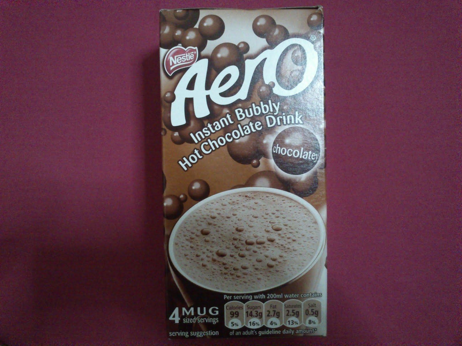 My Hot Cocoa Aero Instant Bubbly Hot Chocolate Drink