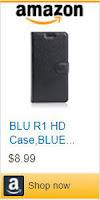 Billetera tipo funda para BLU R1 HD.