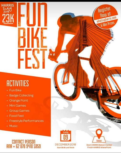 Fun Bike Fest Dalam Rangka Harris Day 2018