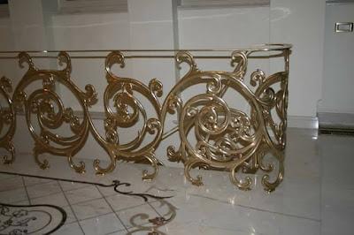 pagar besi kuningan adalah pagar tempa
