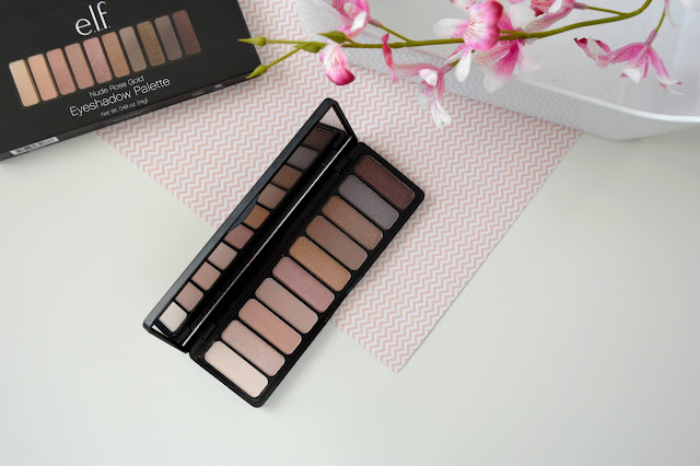 palette nude rose gold elf