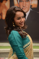 Tejaswi Madivada looks super cute in Saree at V care fund raising event COLORS ~  Exclusive 062.JPG