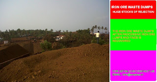 Iron Ore Waste Dumps for Sale