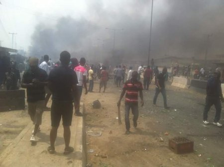 Update On Police and Butchers Bloody Clash In Ibadan (Photos)