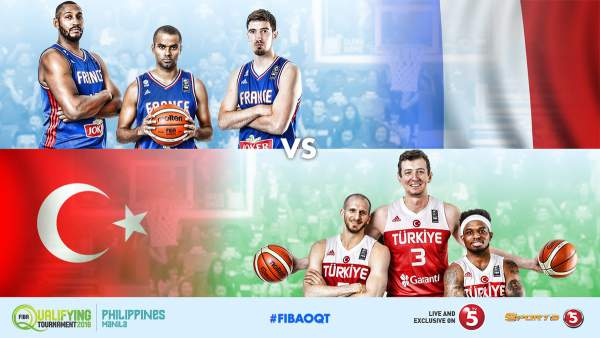 #FIBAOQT: France vs. Turkey by Sports5