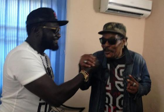Warri based Billionaire Ayiri Emami and Majek Fashek