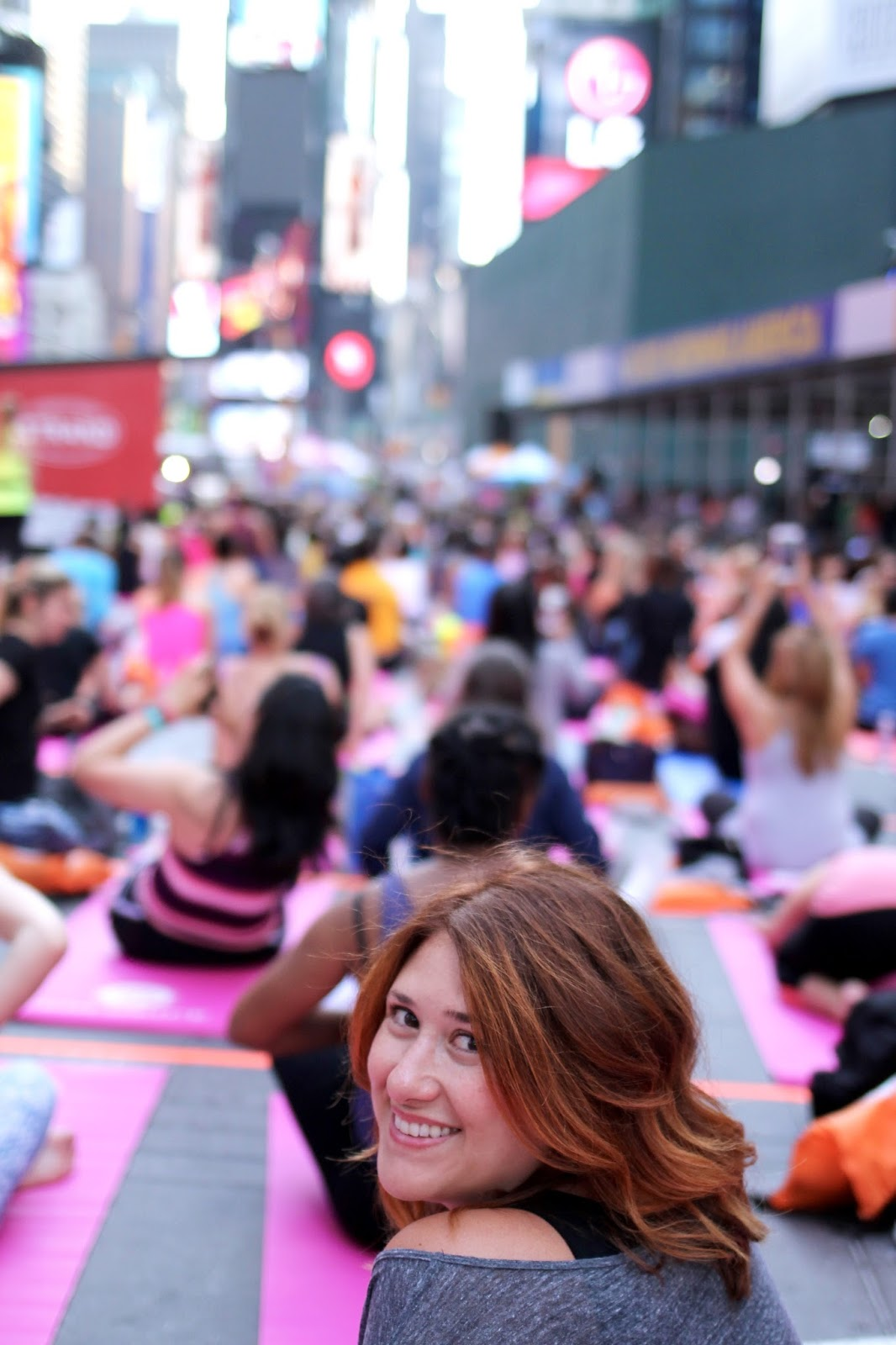 Mind over madness times square yoga, new york