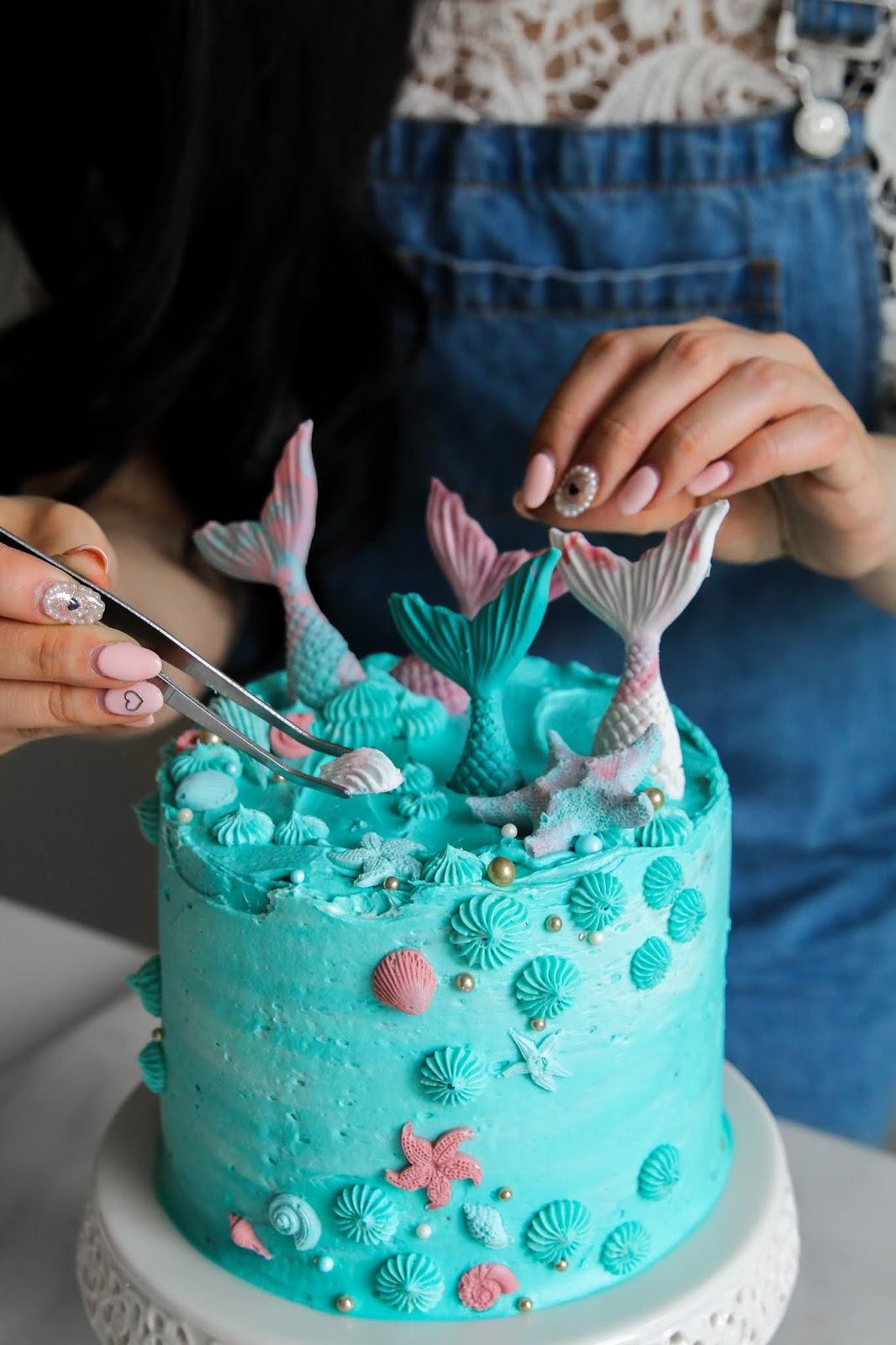 Admirable Mermaid Oreo Funfetti Birthday Cake Constellation Inspiration Personalised Birthday Cards Veneteletsinfo