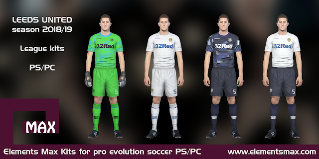 Leeds United PES Kits 2018/19