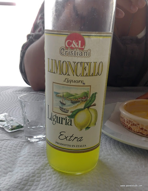 Restaurante O Braseiro- Licor de limão