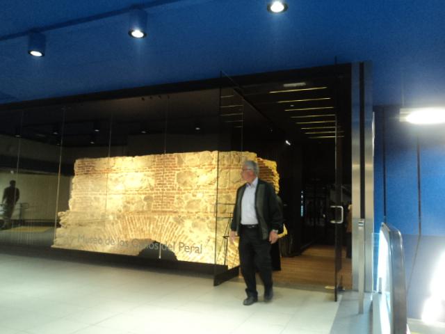 Más de 13.300 viajeros semanales se acercan a Ópera para ver las reliquias del Museo de los Caños del Peral