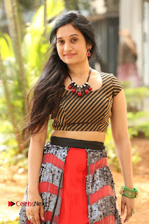 Telugu Actress Priyanka Pallavi Stills at Nenostha Release Press Meet  0101.JPG