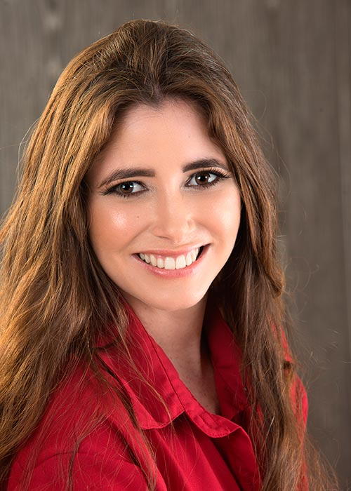 Carolina Padilla, autora de La fuente de la fortuna