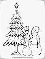 Free Christmas Coloring Sheet