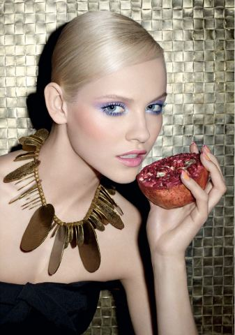 Yves Saint Laurent Spring Look 2012 Candy Face Beauty