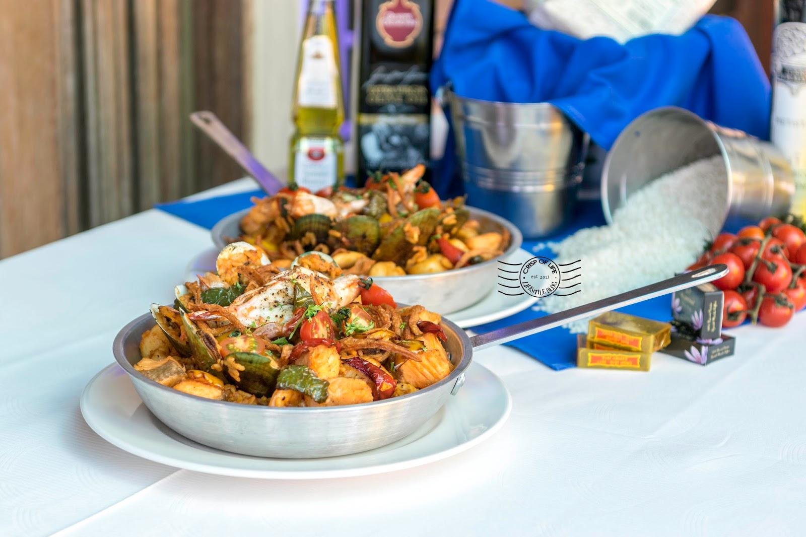 Seafood Paella & Mama-mia Pizza @ Sigi's Bar and Grill, Golden Sands Resort Penang by Shangri-La