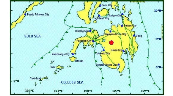 Magnitude 6.0 earthquake jolts Davao, nearby areas April 12, 2017
