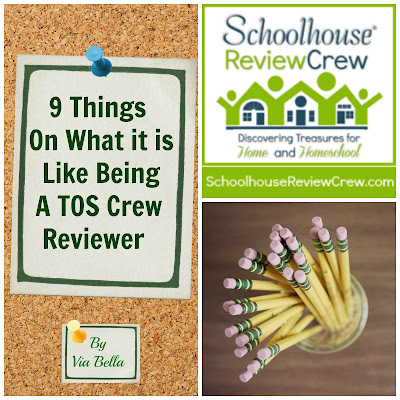 9 Things On What it is Like Being A TOS Crew Reviewer, homeschooler, homeschooling, reviews, product review, reviews, the old school house, blogger, mom blogger