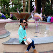 Pigtails and Pearls: Vegas Weekend Outfitted in Mint and Neon