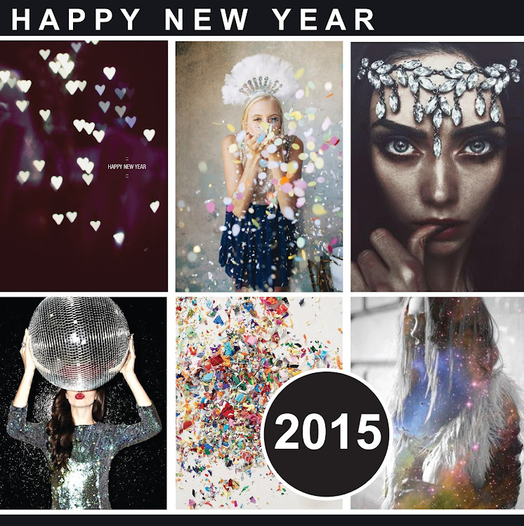 MOOD BOARD // HAPPY NEW YEAR - 2015
