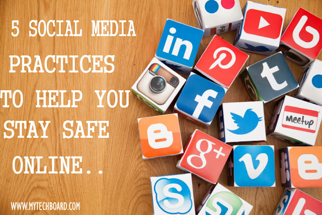 how to stay safe on social media