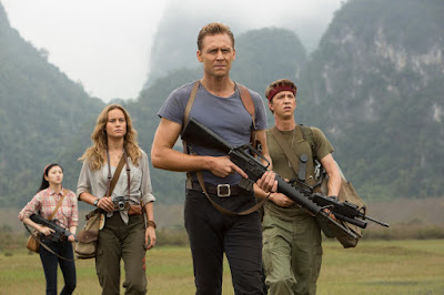 Tom Hiddleston, Brie Larson, Thomas Mann and Tian Jing in Kong: Skull Island (34)
