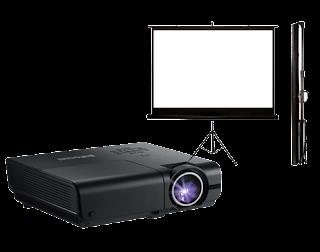 Sewa Proyektor dan Screen