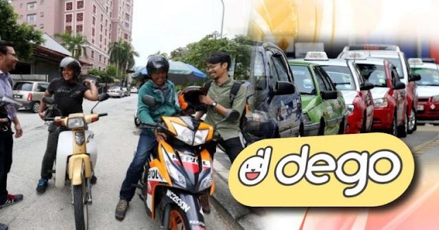 Perkhidmatan Teksi Motosikal Kembali Beroperasi Selepas Diharamkan