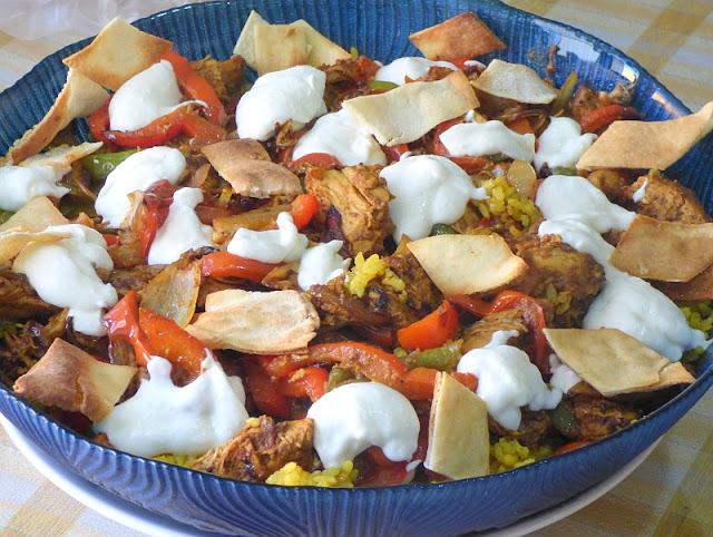 Shawerma mit Reis Rezept Ägypten Syrien