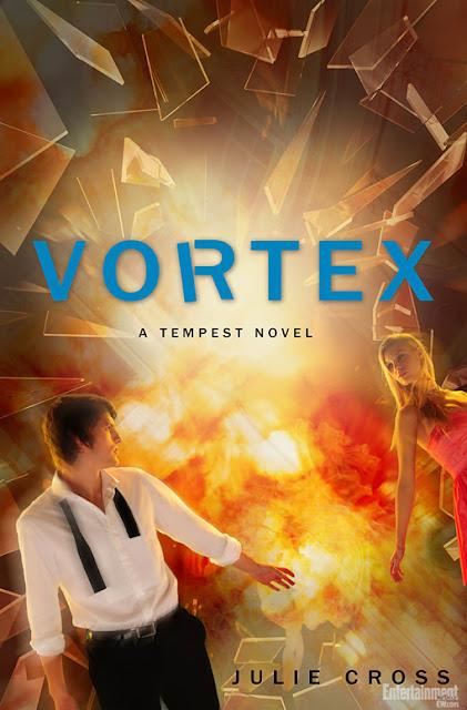 News: Capa de Vortex, de Julie Cross. 17